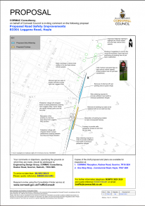 B3301 Hayle, Loggans Road - Proposed Road Safety Improvements | Image