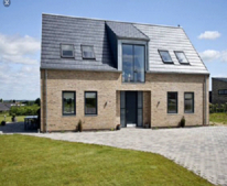 Image 2 showing example of proposed aluminium windows in colour grey