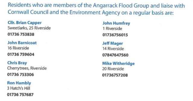 Angarrack Flood Group - Angarrack Flood Plan 2015