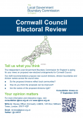 Cornwall Council Electoral Review - Tell us what you think - The independent Local Government Boundary Commission
