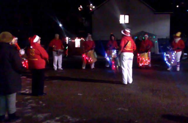 Samba at the Switch On