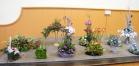 Tableau of Christmas Flower Arrangements 2012