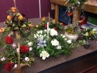 Some photos of the 36 arrangements done by the very talented ladies at workshop December 2016 part one