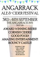 Angarrack Ale & Cider Festival 3-6th September   Angarrack Inn
