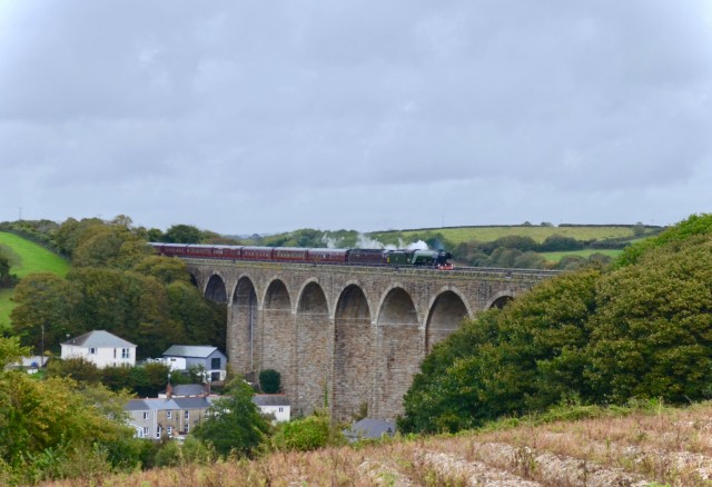Flying Scotsman on way to Penzance | Saturday 6th October 2018