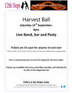 Harvest Ball 2015 in aid of Angarrack Christmas Lights